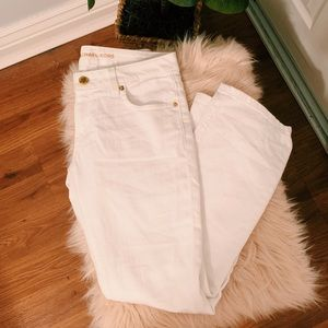 Cropped flare jeans!